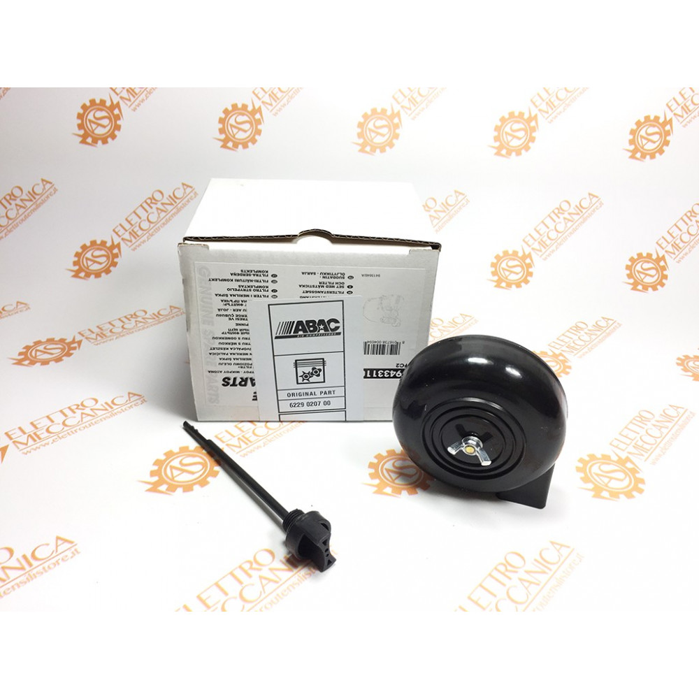 Kit Filtro Completo di Astina Olio Gruppi Pompanti Abac L20 / FC2
