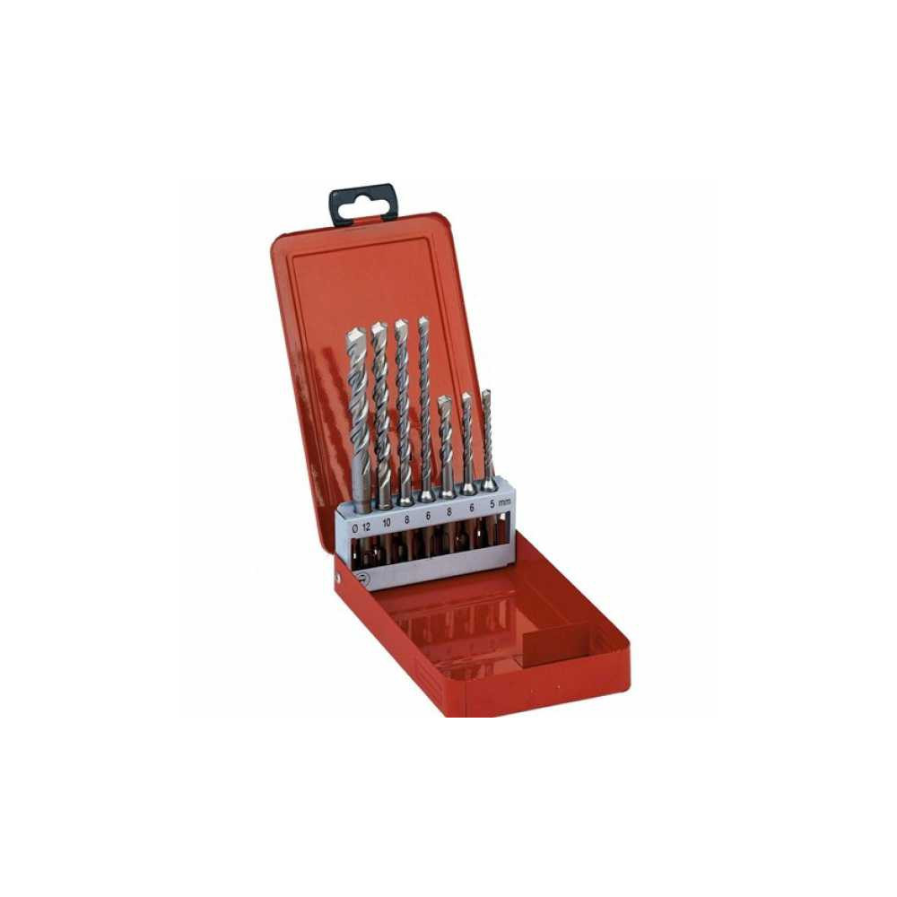 SET PUNTE SDS-PLUS MILWAUKEE 2 TAGLIENTI 7PZ