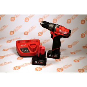 Promozione Trapano con percussione M12 6Ah CPD-602X 12V FUEL Milwaukee 4933451509