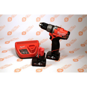 Promozione Trapano con percussione M12 4Ah CPD-402X 12V FUEL Milwaukee 4933440375