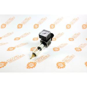 Filtro regolatore di pressione modulare con bicchiere in tecnopolimero E/14F ANI