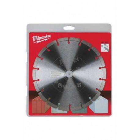Milwaukee Du 230 diamond cutting disk 230 Mm diameter