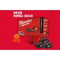 Energy Kit M18 NRG-503 Batterie Originali Milwaukee