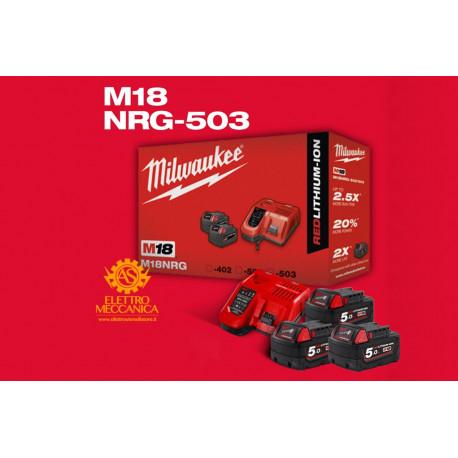 Milwaukee Energy Kit M18 NRG-503 Original Batteries