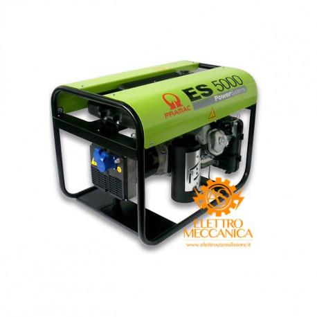 Generatore di Corrente ES5000 230V 50Hz + AVR monofase Pramac