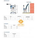 Elettropompa Sommergibile DRENAGGIO acque chiare Monofase 0.50KW 0.50HP TOP 2 Pedrollo