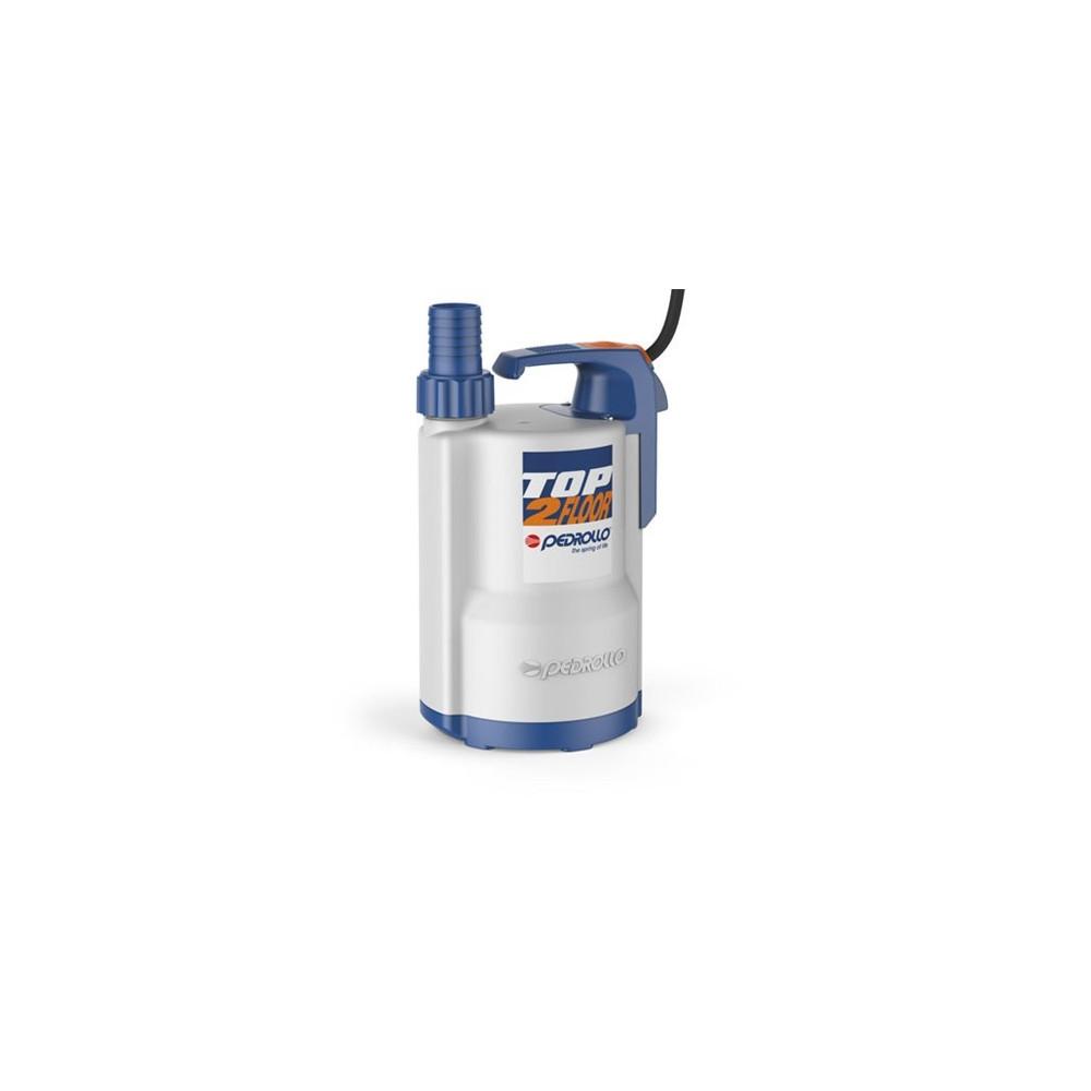 Elettropompa Sommergibile TOP2-FLOOR DRENAGGIO acque chiare Monofase 0.37KW 0.50HP cavo 5mt Pedrollo