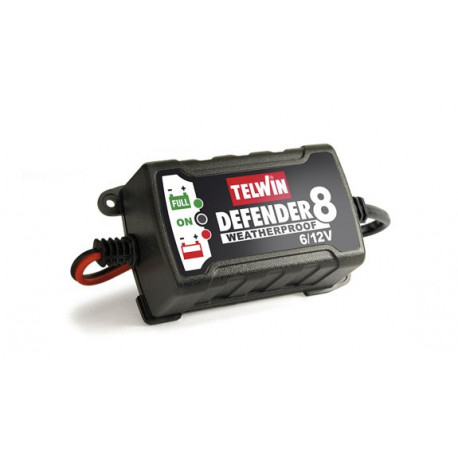 Telwin defender 8 battery charger and maintainer