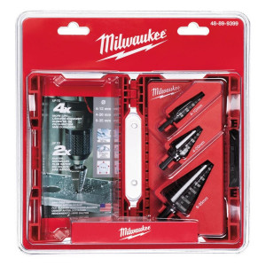 Set Frese a Gradino 3pz Milwaukee