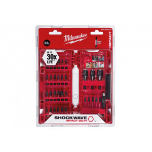Set Bit SHOCKWAVE Impact Drivers 33pz per avvitatori ad impulsi Milwaukee