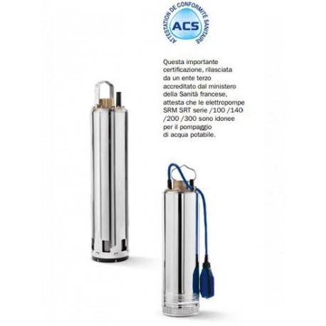 Elettropompa Sommersa BBC SRM16 7/100 +G 1,6HP 1,2KW 230V monofase
