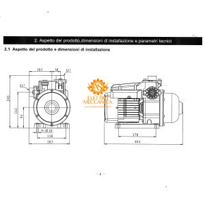 Elettropompa multistadio Aladino Advance con convertitore di frequenza Matra