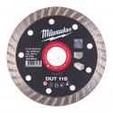 Disco Diamantato DUT 115mm Milwaukee