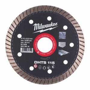 Milwaukee DHTS 115mm diamond cutting disk