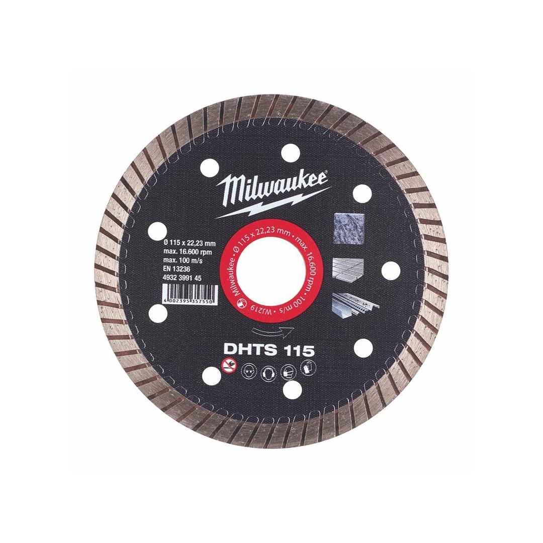 Disco Diamantato DHTS 115mm Milwaukee