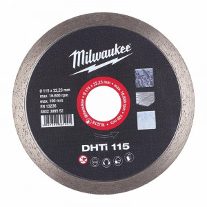 Milwaukee DHTi 115mm diamond cutting disk
