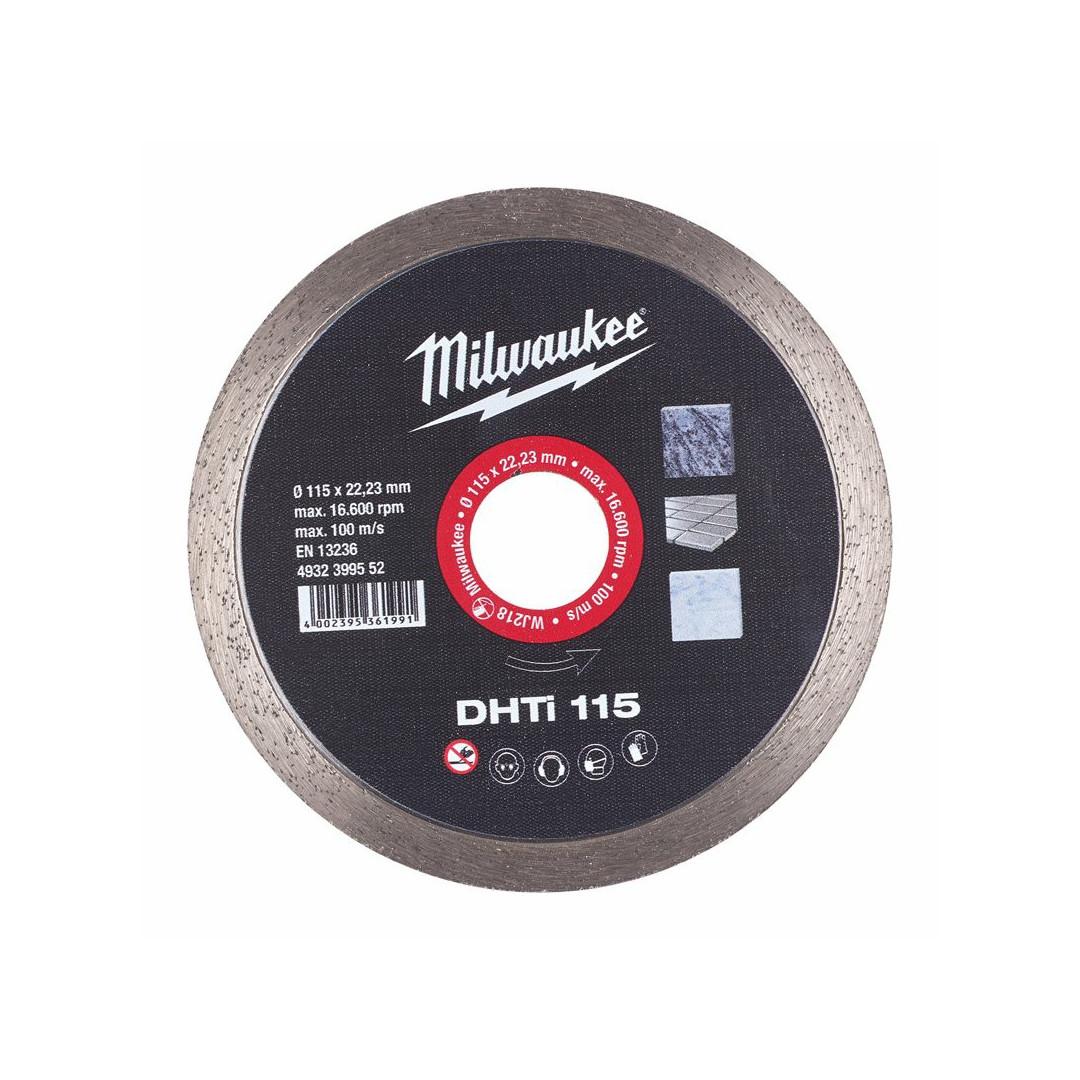 Disco Diamantato DHTi 115mm Milwaukee