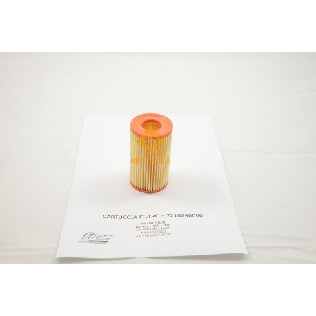 Air filter cartridge for Fiac AB 450 - AB 550 - AB 660 - AB 800 Pumping Units
