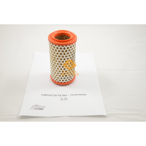 Cartuccia Filtro Aria per Gruppi Pompanti Fiac AB 1000 - AB 1500