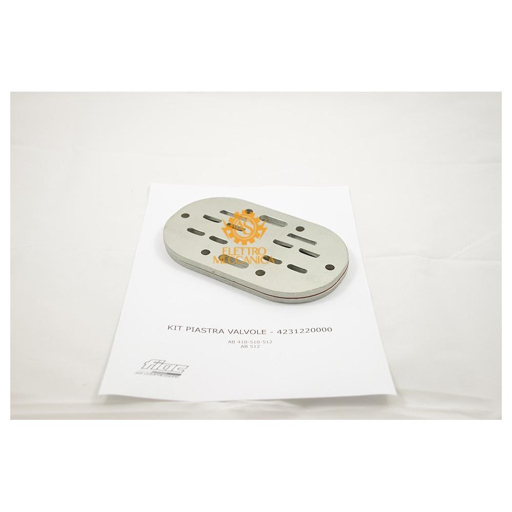 Kit Piastra Valvole  per Gruppi Pompanti Fiac AB 410 - AB 510 - AB 512