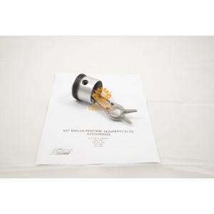 Kit Biella Pistone Segmenti per Gruppi Pompanti Fiac GM 193 - GM 25 300 - GM 300 - S 15 M - VX 304