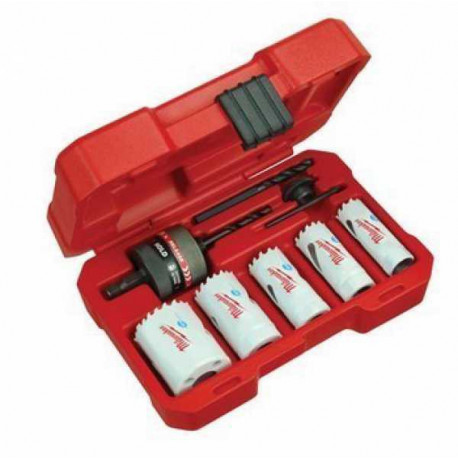 Bi-metal hole saw – 8  piece set