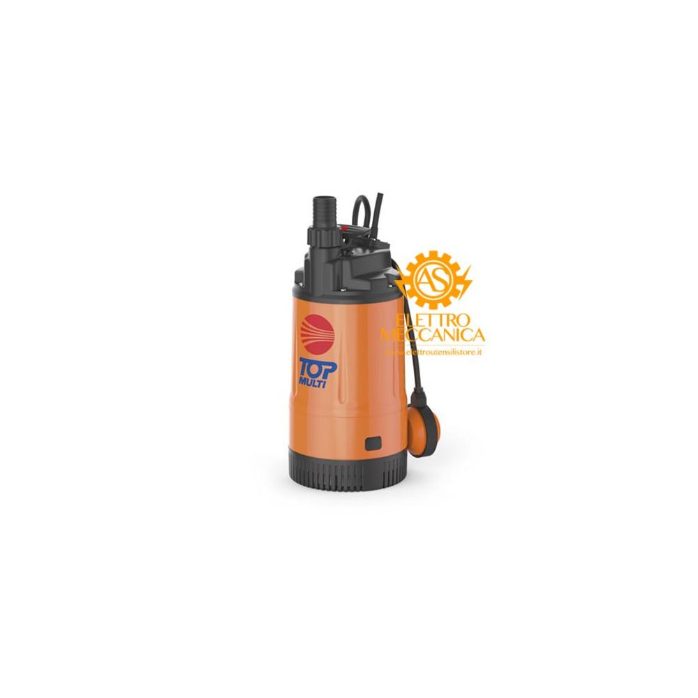 Elettropompa Sommergibile MULTIGIRANTE Monofase 0.55KW 0.75HP TOP MULTI 2 Pedrollo cavo 10mt