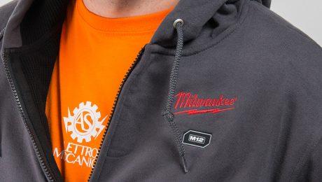 Felpe termiche riscaldate a batteria by Milwaukee